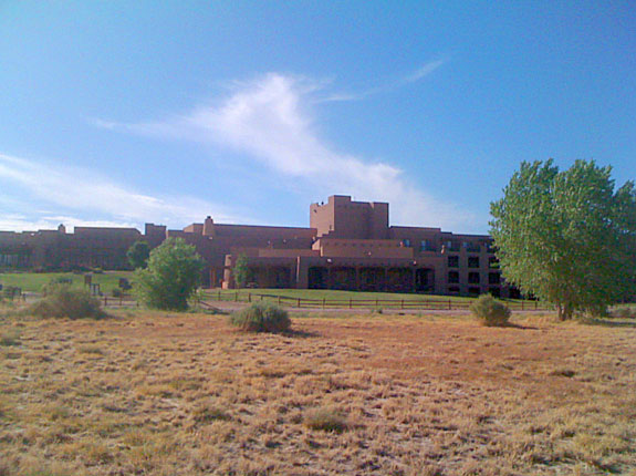 The Tamaya Resort, Santa Ana Pueblo, New Mexico.